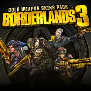 Borderlands 3 Gold Weapon Skins Pack Xbox One