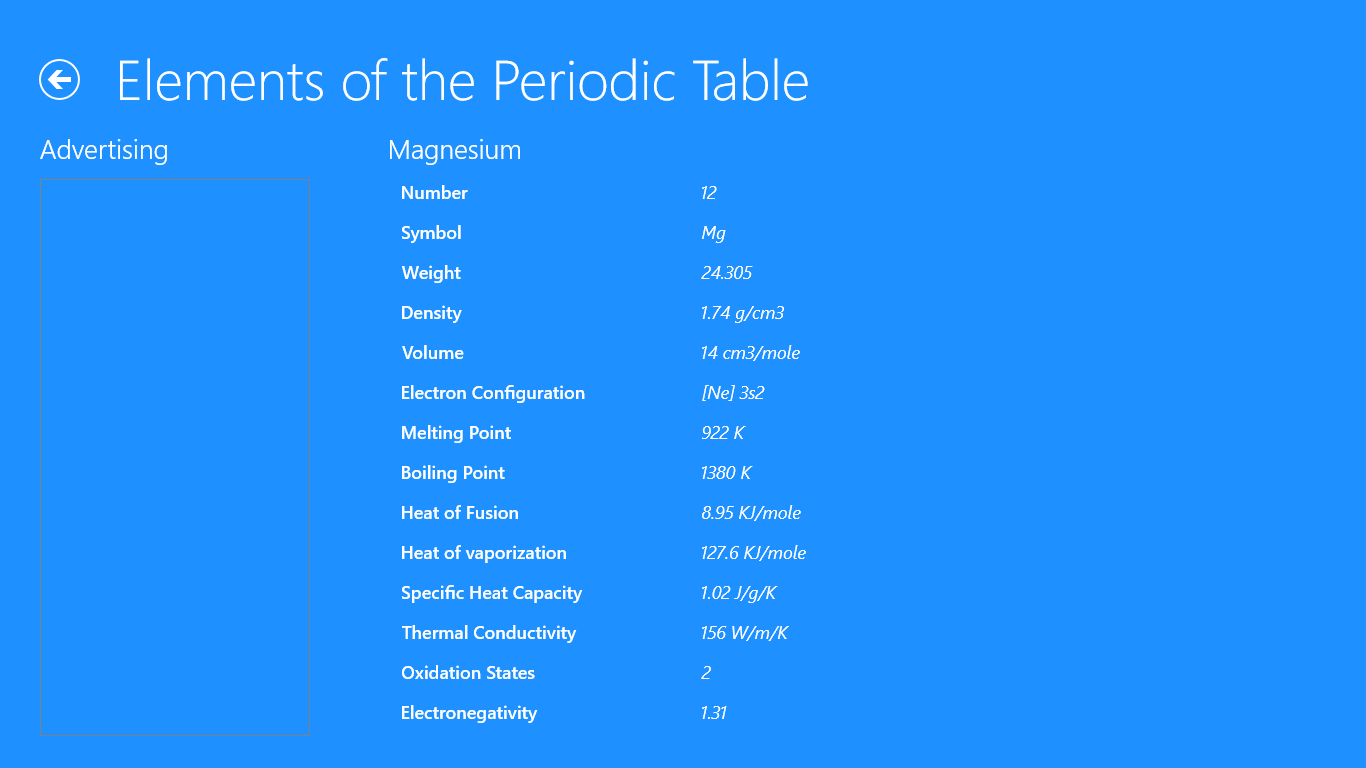 Elements of the periodic table for windows 10 free download on elements of the periodic table for windows 10 free download on windows 10 app store urtaz Image collections