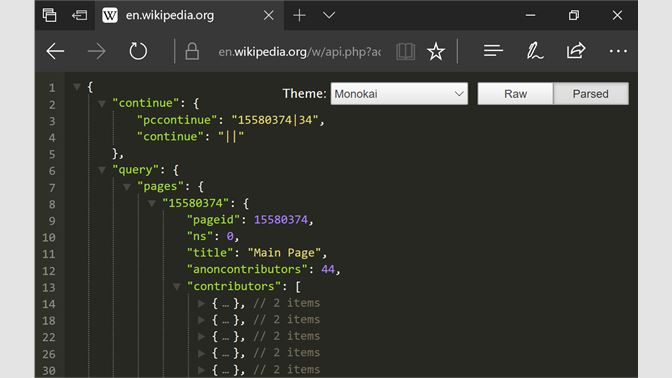 Get JSON Formatter for Edge - Microsoft Store