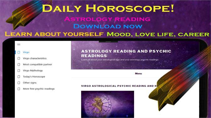 Get Virgo daily horoscope - Astrology psychic reading
