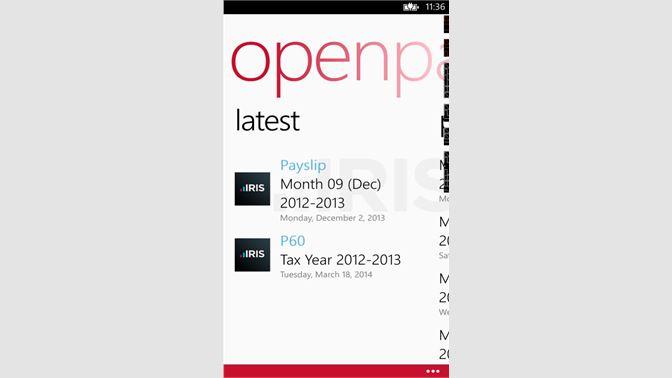 Get OpenPayslips - Microsoft Store en-GB