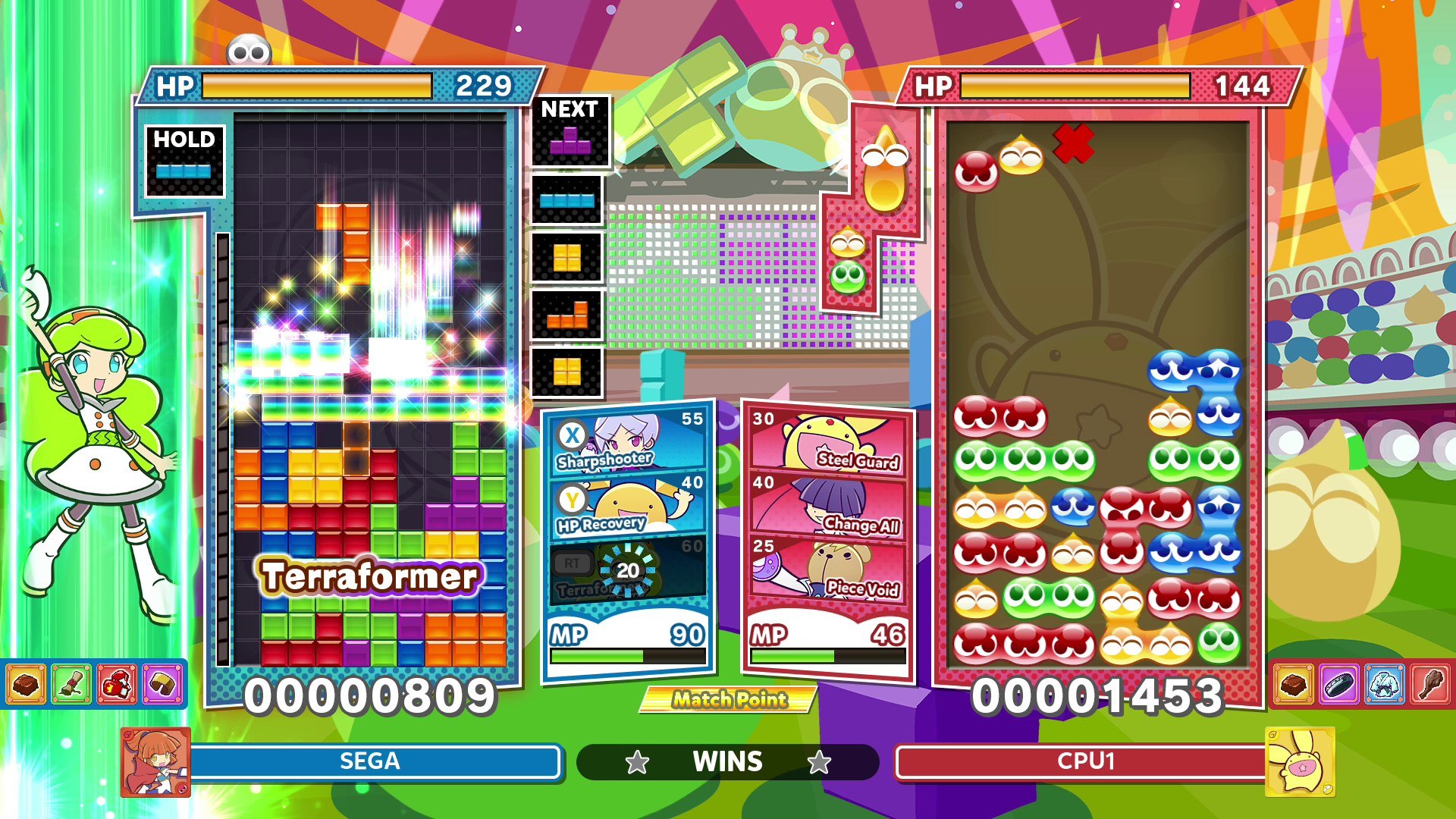 Скриншот №12 к Puyo Puyo™ Tetris® 2