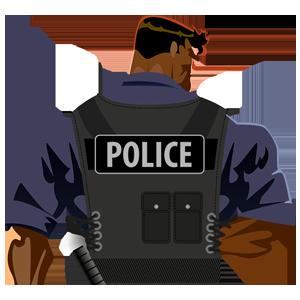 Police Radio Scanner 5-0
