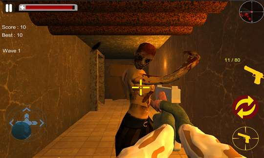 Blood Zombies Dead Target Killer screenshot 2