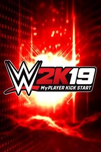 Carátula para el juego WWE 2K19 MyPLAYER KickStart de Xbox 360
