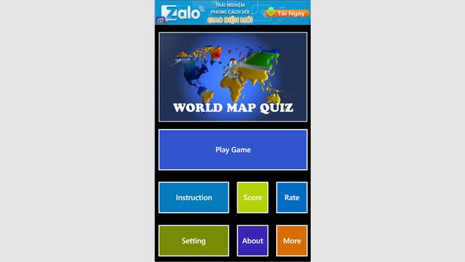 Get World Map Quiz - Microsoft Store