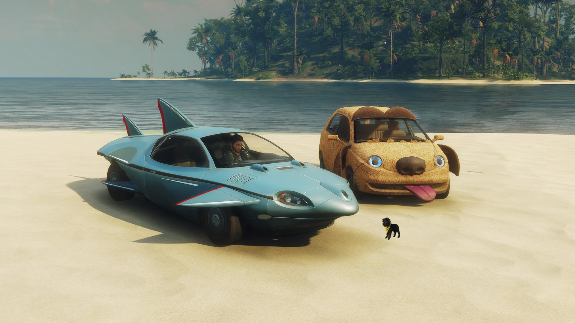 Just Cause 4 - Shark and Bark Vehicle Pack