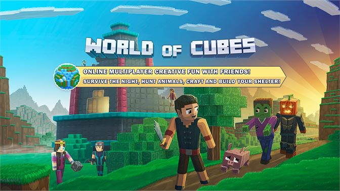 Get World Of Cubes Survival Craft Microsoft Store