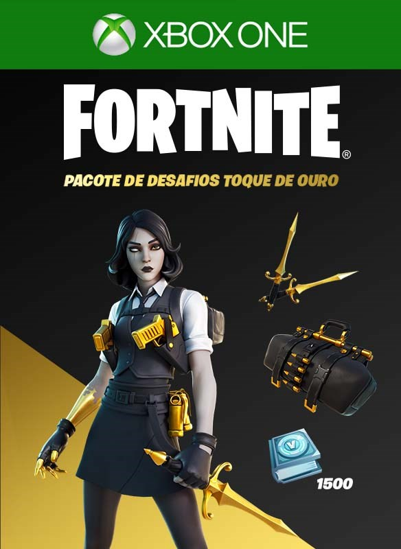Fortnite - Golden Touch Quest Pack