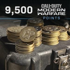 9,500 Call of Duty®: Modern Warfare® Points Xbox One