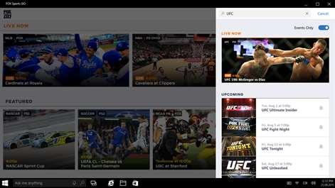 FOX Sports GO Screenshots 2
