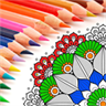 Adult Coloring Book With Multiple Templates & Abstract Coloring Mandalas