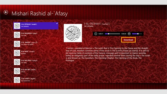 Get Noble Quran - Microsoft Store