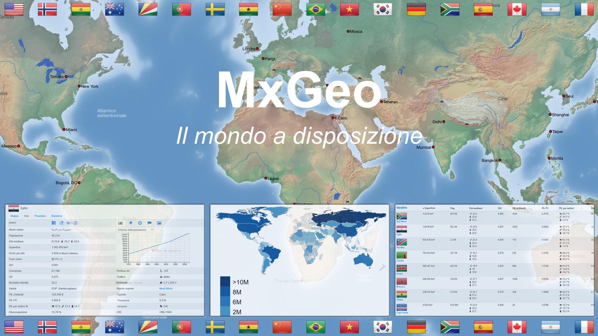 Acquista Atlante E Mappa Mondo Mxgeo Free Microsoft Store It It