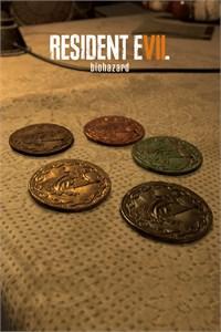Liberar conjunto de 5 moedas e modo Hospício