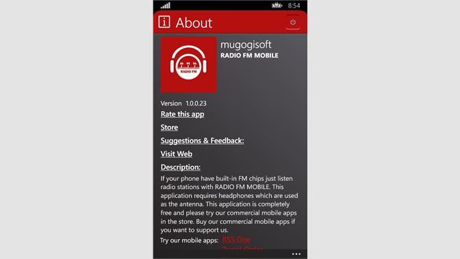 Get Radio FM Mobile - Microsoft Store