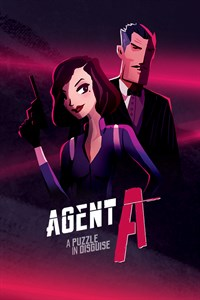 Carátula para el juego Agent A: A puzzle in disguise de Xbox 360