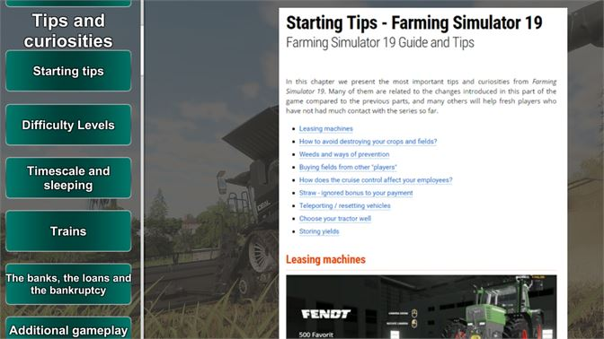 Buy Farming Simulator 19 Guide - Microsoft Store en-IS