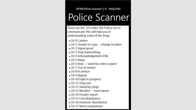 Buy Police Scanner 5-0 Radio Pro - Microsoft Store