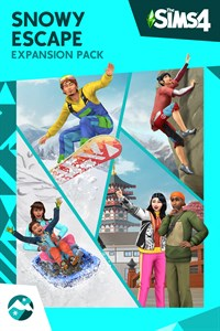 Carátula del juego The Sims 4 Snowy Escape Expansion Pack