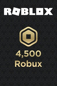4,500 Robux for Xbox