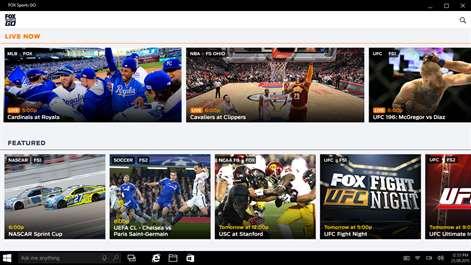 FOX Sports GO Screenshots 1