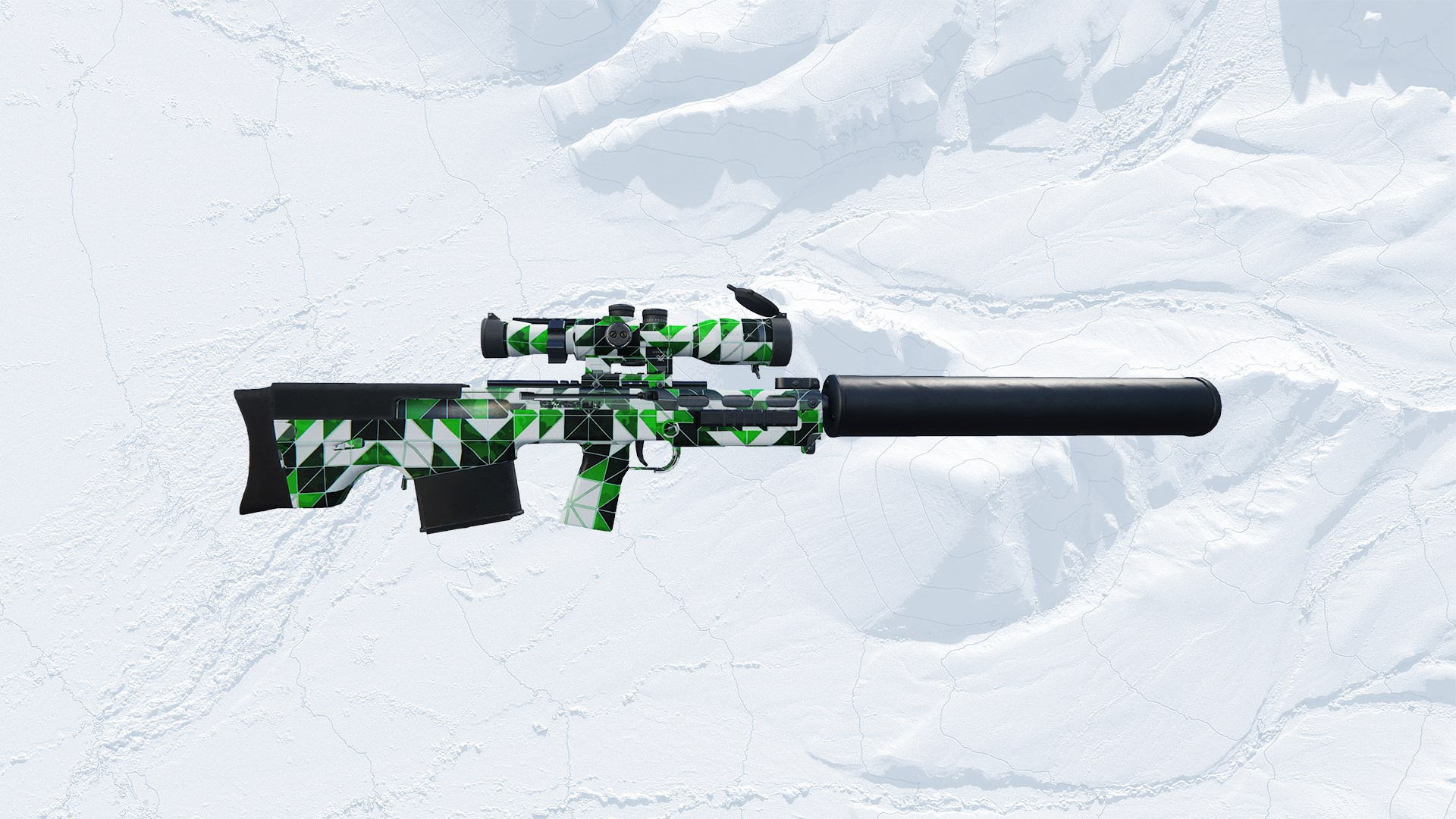 Green One X Weapon Skin