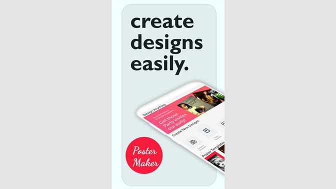 0c027693165 Get Poster Maker - Poster Design