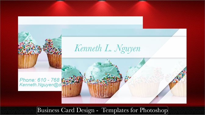 Business Card Design Templates For Photoshop Microsoft