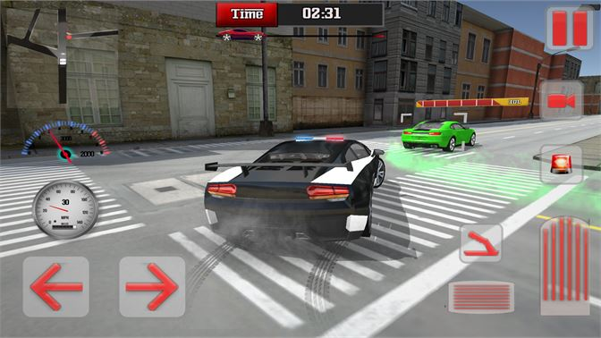 Get Police Car Chase Driving Simulator - Microsoft Store