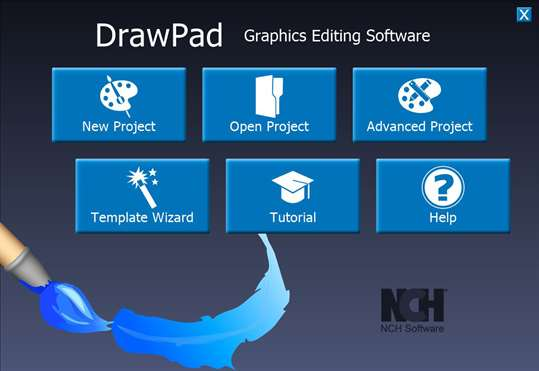 DrawPad Graphic Design Editor Free screenshot 1
