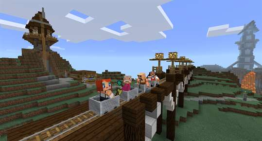 Minecraft with Explorers Pack screenshot 1