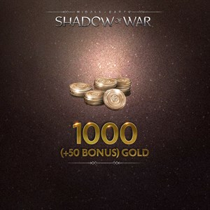 1000 (+50 Bonus) Gold Xbox One