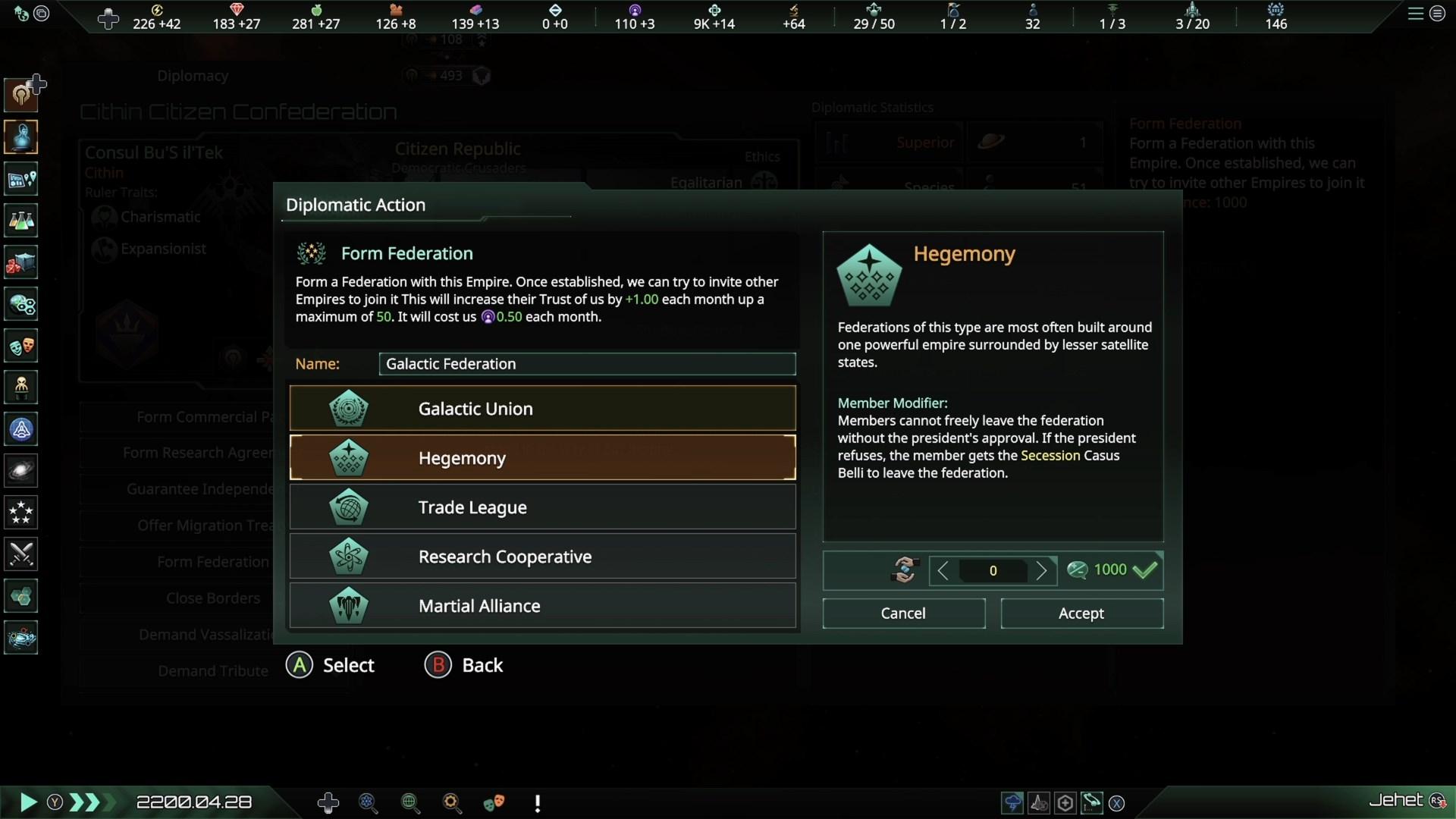 Скриншот №8 к Stellaris Federations
