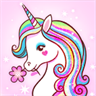Unicorn Coloring Book - Adult Coloring Book