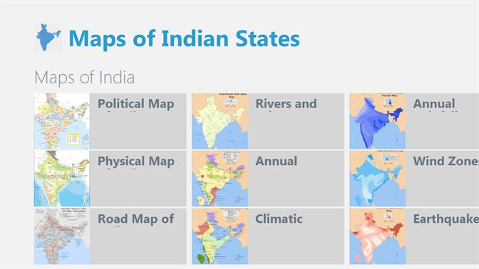 Get Maps of Indian States - Microsoft Store en-IN