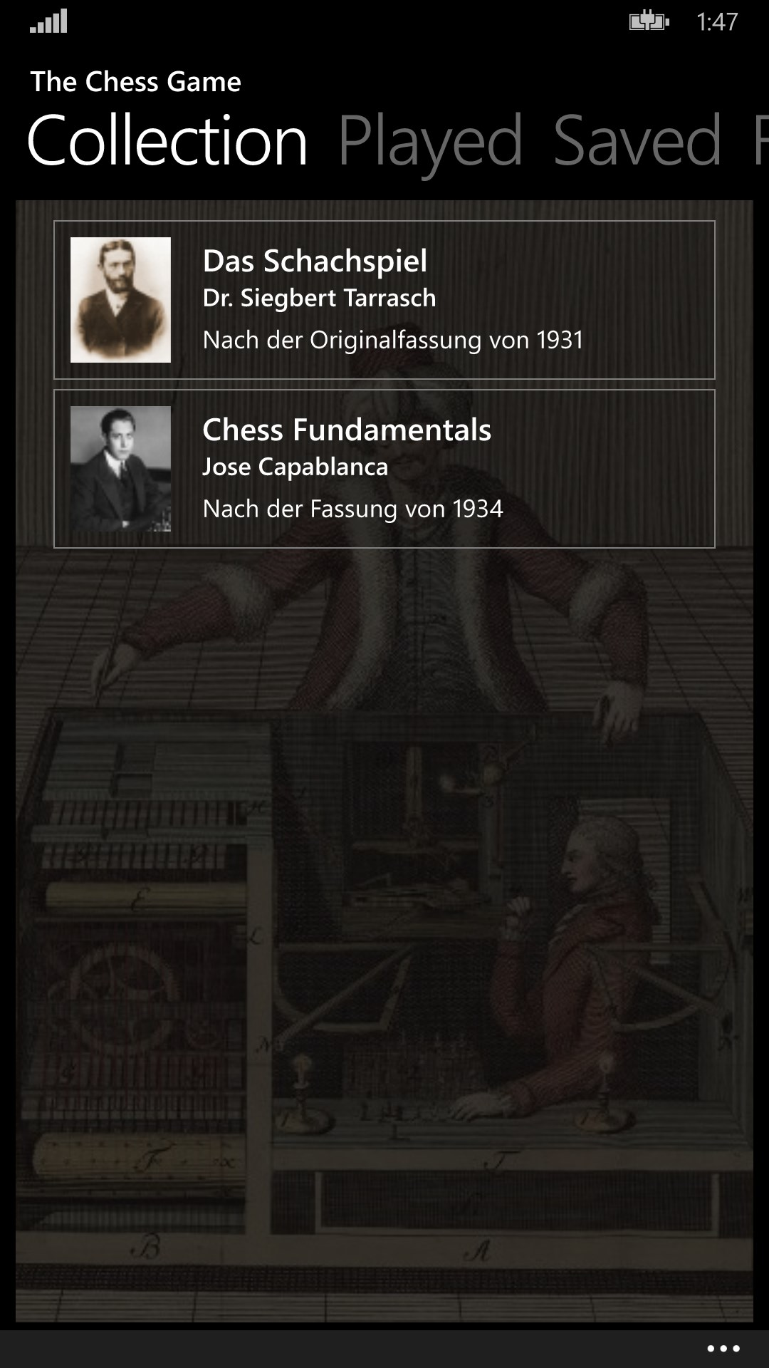 Chess4Mobile for Windows 10 Mobile