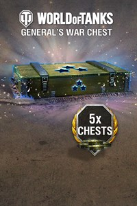 World of Tanks - 5 General's War Chests