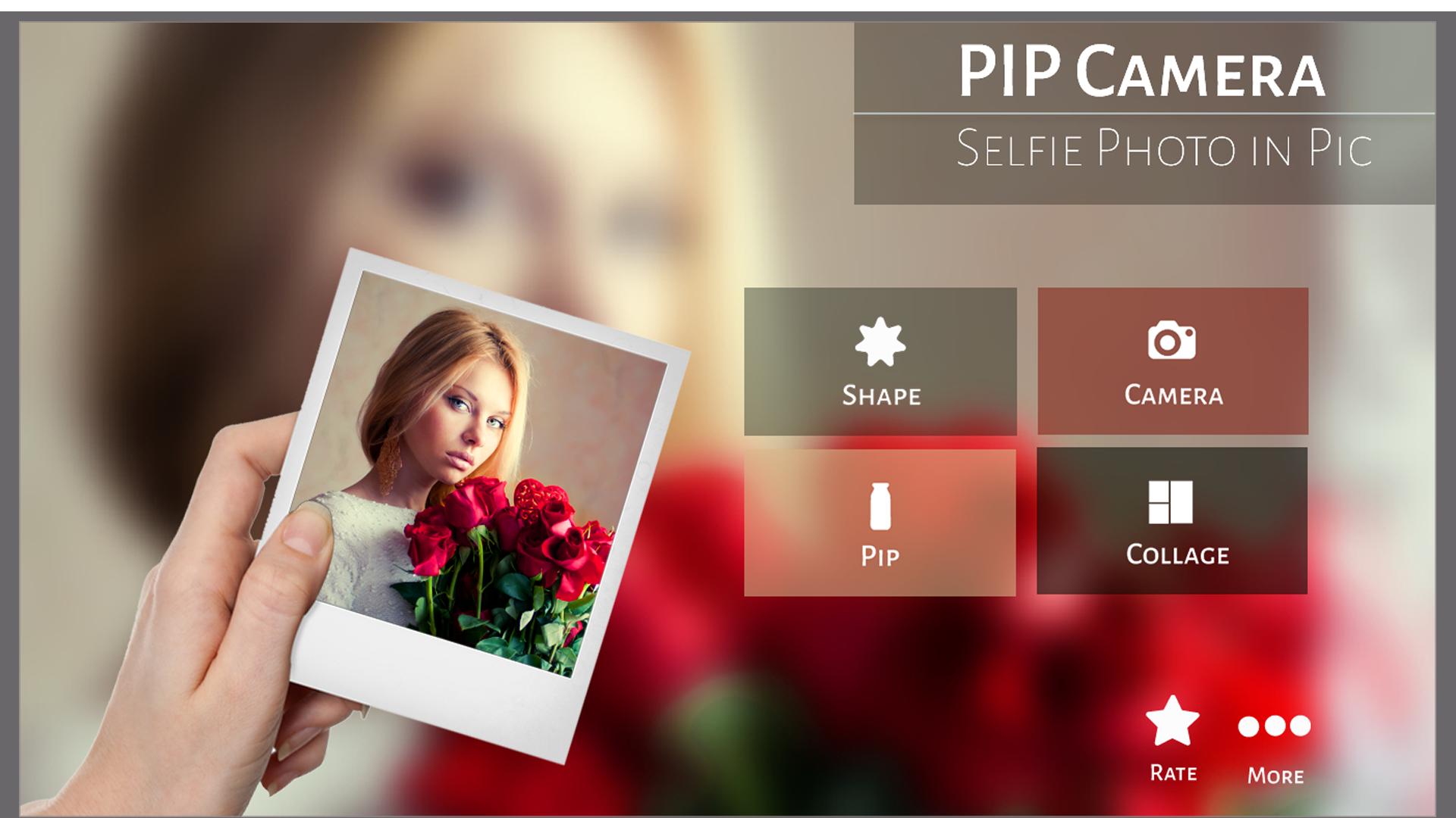 PIP Camera Selfie Photo In Pic
