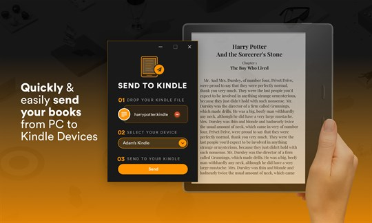 Send Book to Kindle screenshot