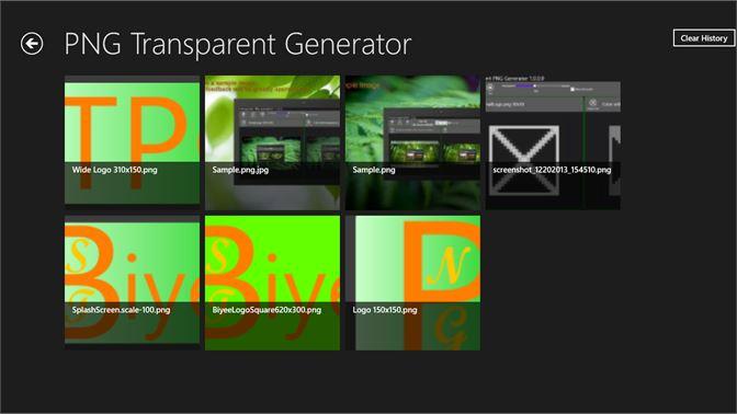 Get Transparent PNG Generator - Microsoft Store