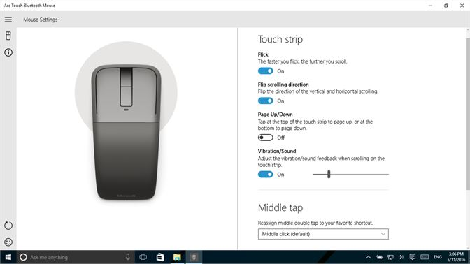 Get Arc Touch Bluetooth Mouse - Microsoft Store