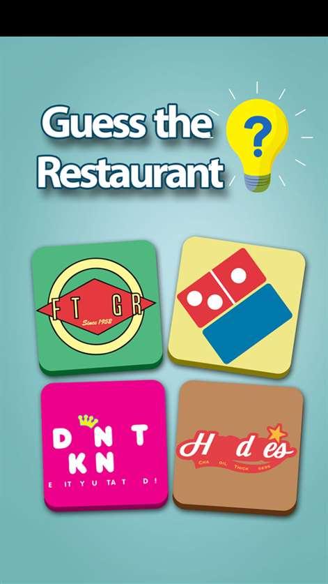 Restaurant Fan Logos Quiz : Crack The Cooking Shop Image Trivia Guess Game Free Screenshots 1