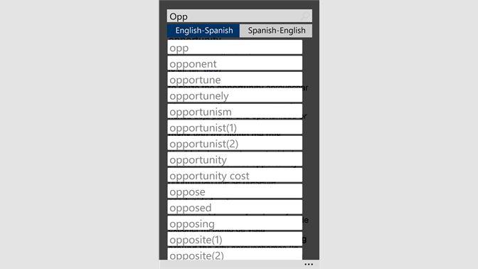 Buy Oxford Spanish Dictionary - Microsoft Store