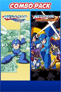 Carátula del juego Mega Man Legacy Collection 1 & 2 Combo Pack