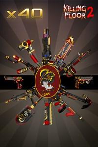 Полный набор внешних видов оружия «Дракон и карп»