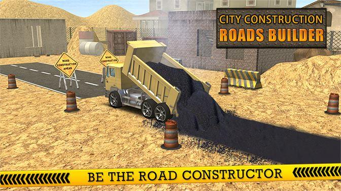 get city construction roads builder 3d excavator sim microsoft store