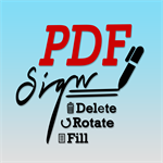 PDF Fill & Sign, Rotate, Delete & Rearrange Tool