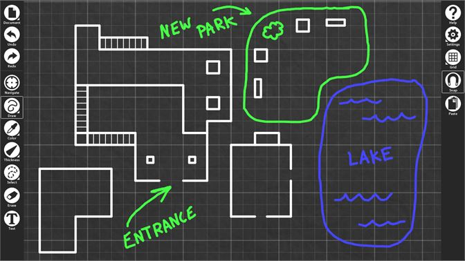 Buy blueprint sketch microsoft store screenshot works with stylus mouse or touch screen malvernweather Choice Image