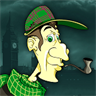 Detective Sherlock Holmes : Hidden Objects . Find the difference